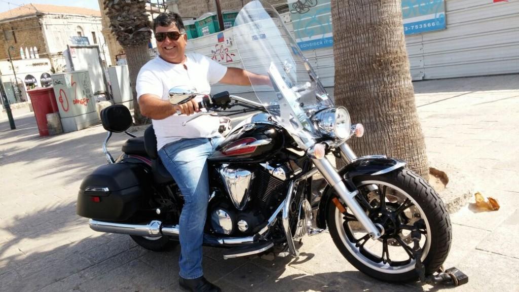 אופנוע בייבוא אישי