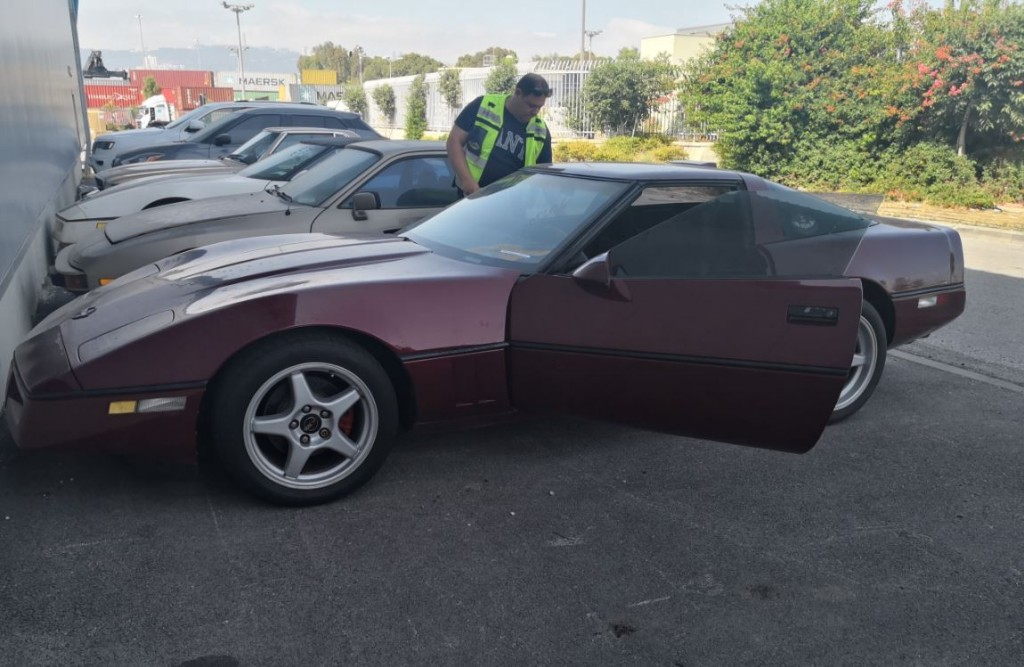 Tzahi's Corvette